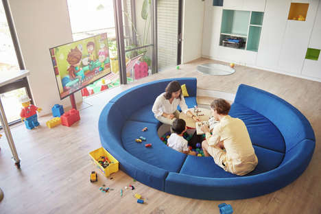 LEGO-Inspired Apartments - HAO Design Creates a Playful Home Perfect for Families