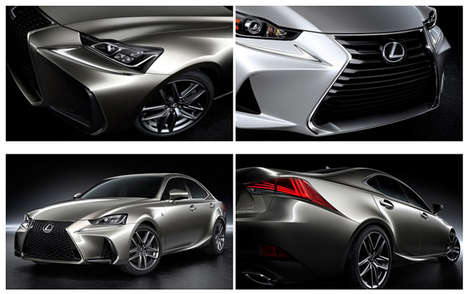 Affordable Luxury Cars - The Lexus IS Sedan Blends Luxury, Performance and Affordability