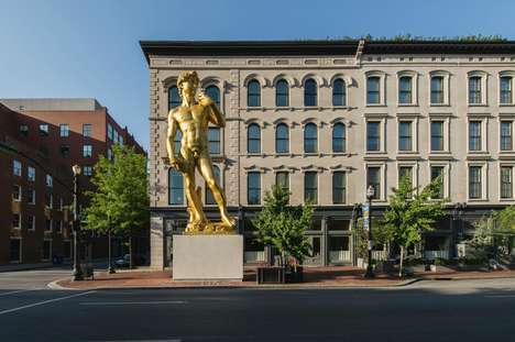 Southern Art Museum Hotels - The 21c Hotel Louisville is a Hybrid Art Gallery and Boutique Hotel