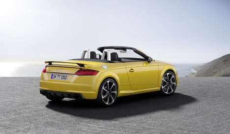 Revamped Race Cars - The New Audi TT RS Vehicles Offer An Unrivaled Handling Experience