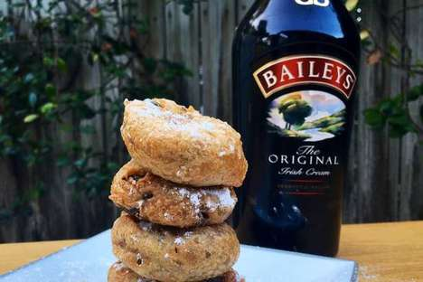 Boozy Fast Food Menus - The Mixed Eats Food Truck Offers Guinness-Spiked Burgers and Bailey's Donuts