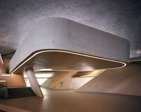 Posthumous Maritime Terminal - The Salerno Terminal Uses the Late Zaha Hadid's Design Language