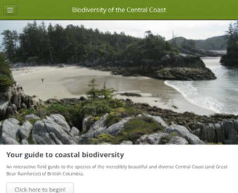 Coastal Biodiversity Apps