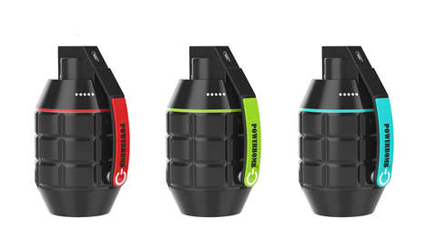 Powerful Weaponry Chargers - The Powerbomb Charger Offers 13,000 mAH Energy Storage for Tech Devices