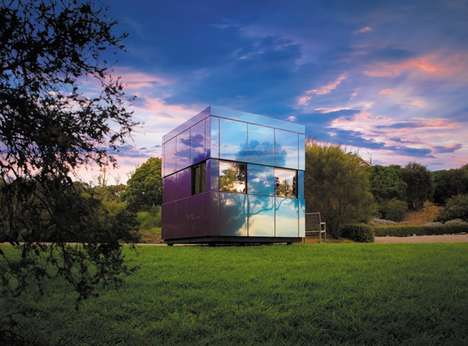 Self-Supporting Living Pods - The Harwyn Pod Cube is a Pre-Fab Living Space Offering Multiple Uses