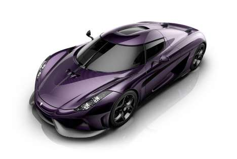 Pop Star Tribute Vehicles - The Koenigsegg is Rereleased in a Vivid Purple to Honor Prince