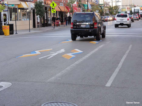 Illusionary 3D Crosswalks - These Geometric Optical Illusion Road Decals Inspire Safer Crossings