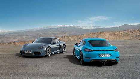 Turbocharged Coupe Cars - Porsche's New Mid-Engine Coupe Delivers On Power and Performance