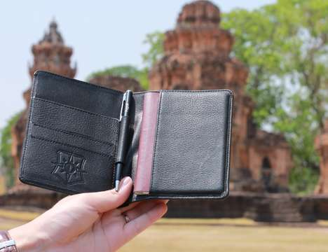 Fashionable Anti-Theft Wallets - The 'Pagalli' Premium Wallet Offers Enhanced Theft Protection