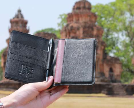 Fashionable Anti-Theft Wallets
