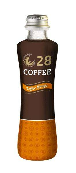 Mango Coffee Beverages - 28 COFFEE Makes an Exotic Mango-Toffee Flavor That's Served Cold