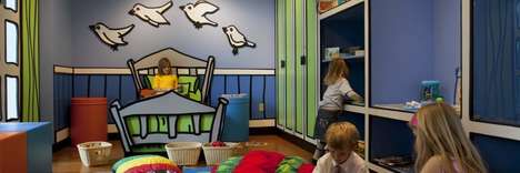 Interactive Science Exhibits - These Discovery Rooms Promote Adult-Child Interaction and Cooperation