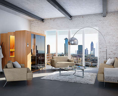 Furniture-Inspired Private Saunas