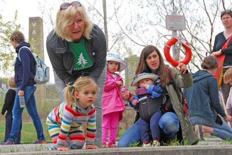 Toddler-Friendly Nature Programs - The Sprouts Parent and Tot Play Program Helps Kids Explore Nature