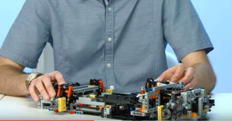 LEGO Grand Tourer Cars - The Porsche 911 Technic Model Features Individual Assembly Sections