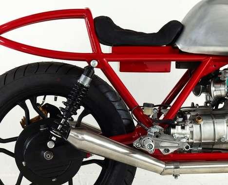 Stripped Utilitarian Motorbikes