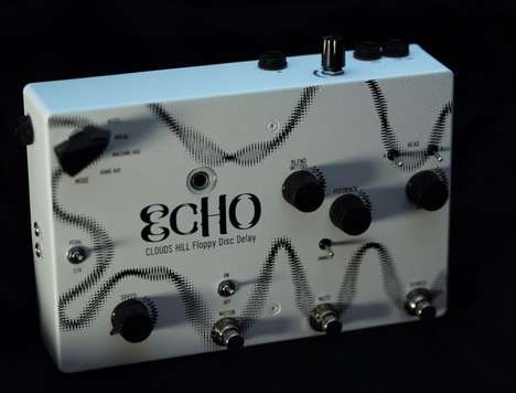 Floppy Disc Echo Pedals - This Echo Effects Unit Makes Use of an Old-School Floppy Disc