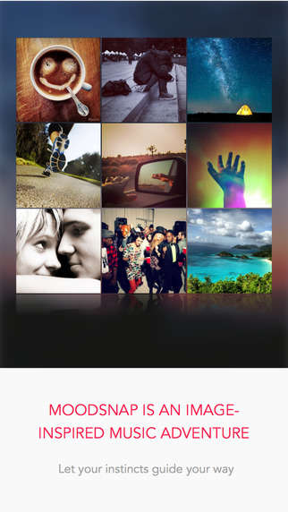 Image-Driven Music Apps - Moodsnap's Music Discovery App Matches Songs to the Feel of a Photo