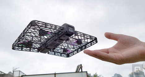 Cassette-Sized Camera Drones - The Hover Camera Shoots 4K Video From a Compact Body