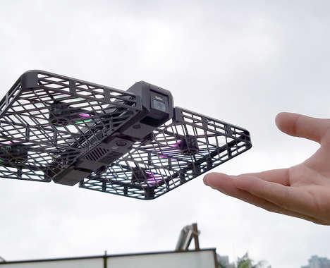 Cassette-Sized Camera Drones