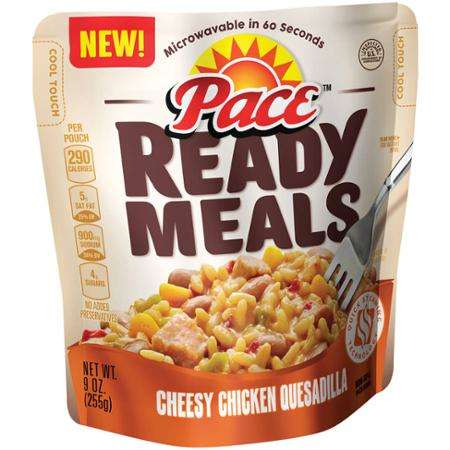 Bowl-Embedded Microwave Meals - Pace 'Ready Meals' Turn into a Bowl After Cooking Has Completed