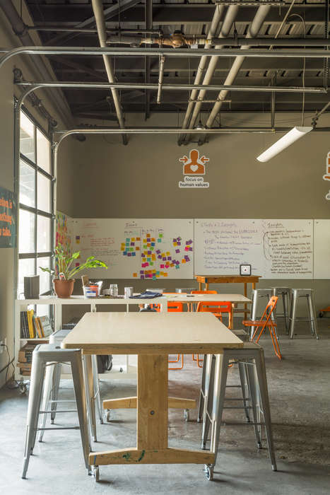 Collaborative Co-Working Spaces - The Skillery's 'stoke.d studio' Encourages Teams to Think Freely