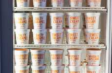 Experimental Artisan Ice Cream - Jeni's Splendid Ice Cream in Nashville Serves Up Creative Flavors