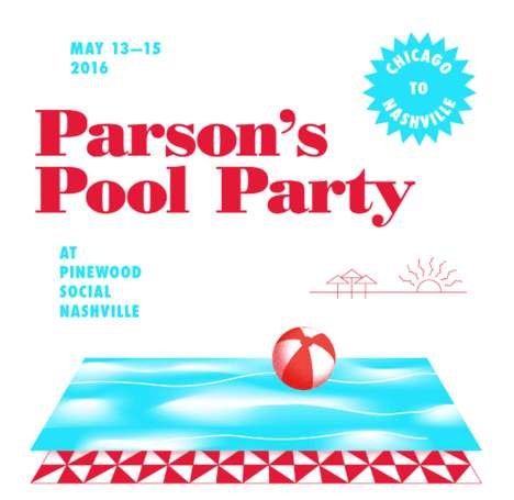 Co-Branded Pool Parties - This Pop-Up Pool Party Event Spotlights Two American Businesses