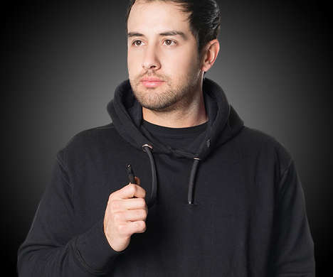 Intergrated Vaporizer Sweaters - The VAPRWEAR Hoodie Includes a Concealed Vape System for Easy Use