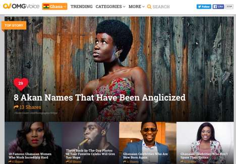 African Youth Media Platforms - OMG Digital Describes Itself as the BuzzFeed for Africa