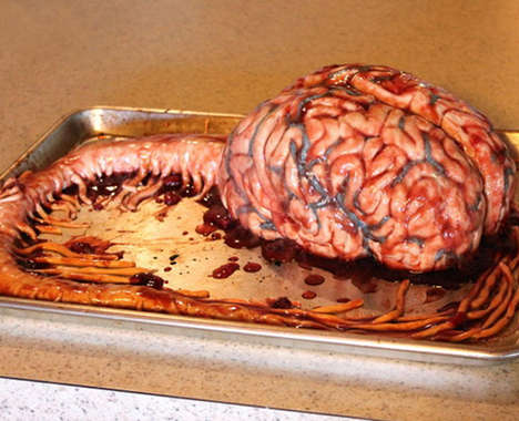 Gruesome Anatomical Cakes