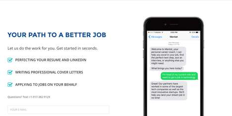 Job Application Concierges - Mentat is a Personal Career Coach That Helps Users Apply for Jobs
