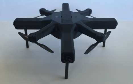Virtual Reality-Capturing Drones - Compared to Others on the Market, This VR Drone is Affordable
