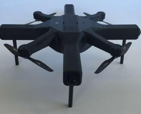 Virtual Reality-Capturing Drones
