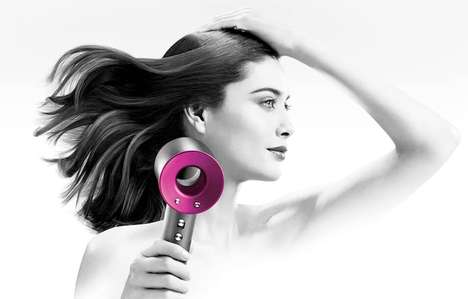 Whisper-Quiet Blow Dryers - The Dyson Supersonic Blow Dryer is Powerful Yet Silent