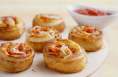Pizza-Inspired Appetizers - The New Pepperoni Rolls from Papa Johns Put a Bite-Sized Twist on Pizza