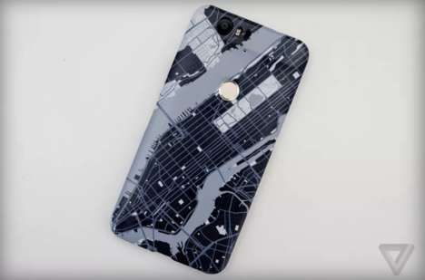 Interactive Android Cases - Google Creates a Custom Product for the Nexus Smartphone