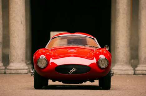 Nostalgic Italian Race Cars - The Effeffe Berlinetta Blends Classic and Modern Automotive Cues