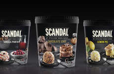 The 'SCANDAL' by Stelio Parliaros Ice Cream Desserts are Scrumptious