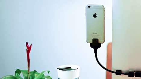 Bendable Charging Docks - The Bobine Blackout Dock Can Be Bent To Your Perfect Angle