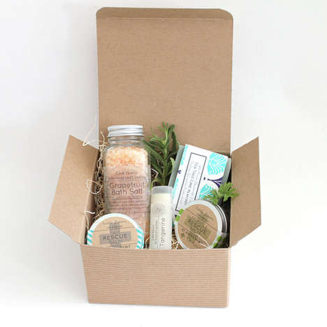 Personalized Mother's Day Boxes - The Little Flower Soap Co Offers Custom Beauty Subscription Kits