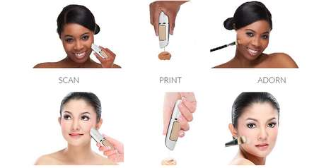Digital Makeup Pens - The Mink Digital Pen Lets Consumers Mix Their Cosmetics Themselves