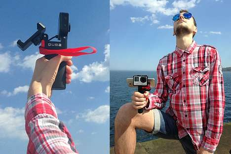 Multitasking Camera Grips - The Fatbat 2 Can Mount Cameras, Smartphones and Mics Simultaneously