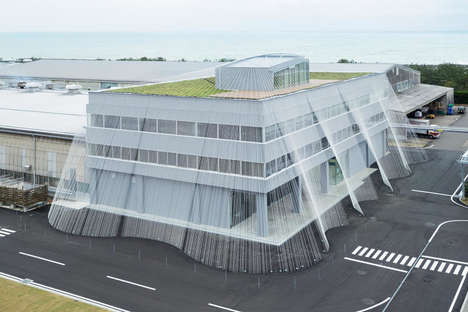 Quake-Proof Buildings - This Newly Designed Japanese Infrastructure Uses Rods to Withstand Shaking