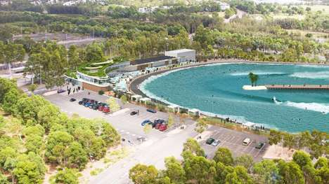 Urban Surf Parks - The URBNSURF Wave Pool Offers Public Surfing With a Simulated Beach