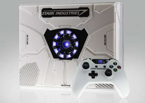 Superhero Special Edition Consoles - The Iron Man Xbox One is Inspired by Stark Industries