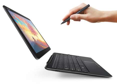 Transforming Tablet Laptops - The Asus Transformer Book T302 Merges Laptops and Tablets Further