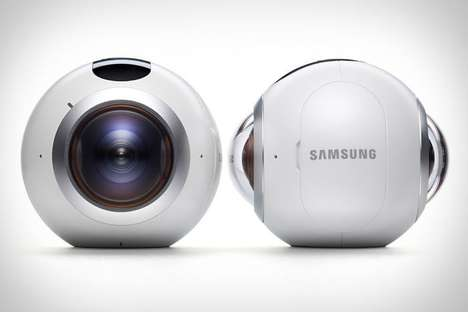 360-Degree VR Cameras - The Samsung Gear 360 Allows Users to Create Content Like Never Before