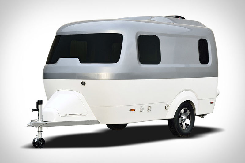 Sleek Two-Tone Campers