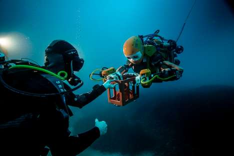 Underwater Exploration Robots - The 'OceanOne' Underwater Robot Could Replace Scuba Diving